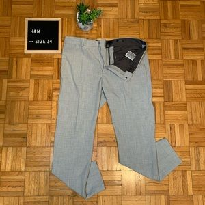 H&M Light Grey Mens Dress Pants Worn Only Twice